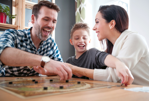 The family that saves together ... reaps the benefits!