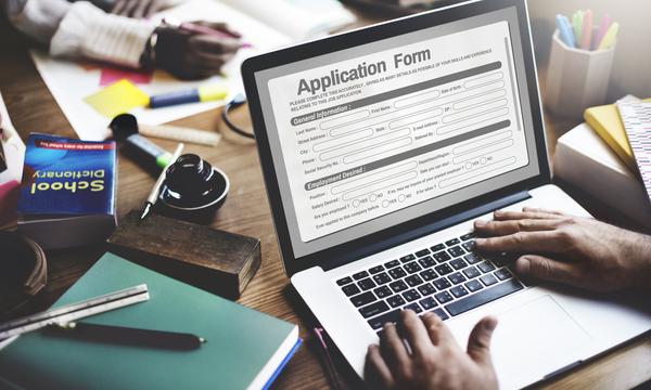 2. Easy, online application