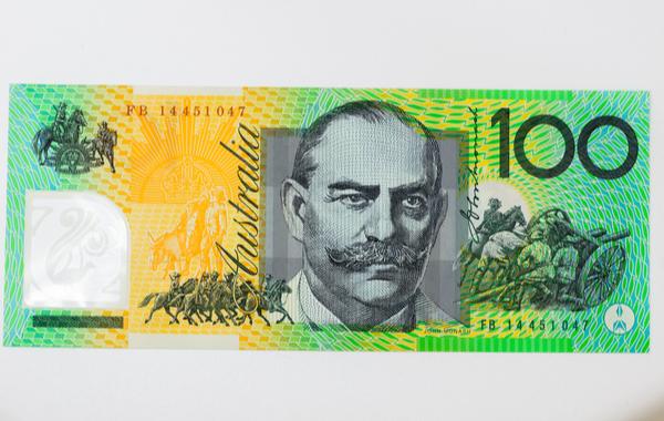 SU - Close up on Australian dollar